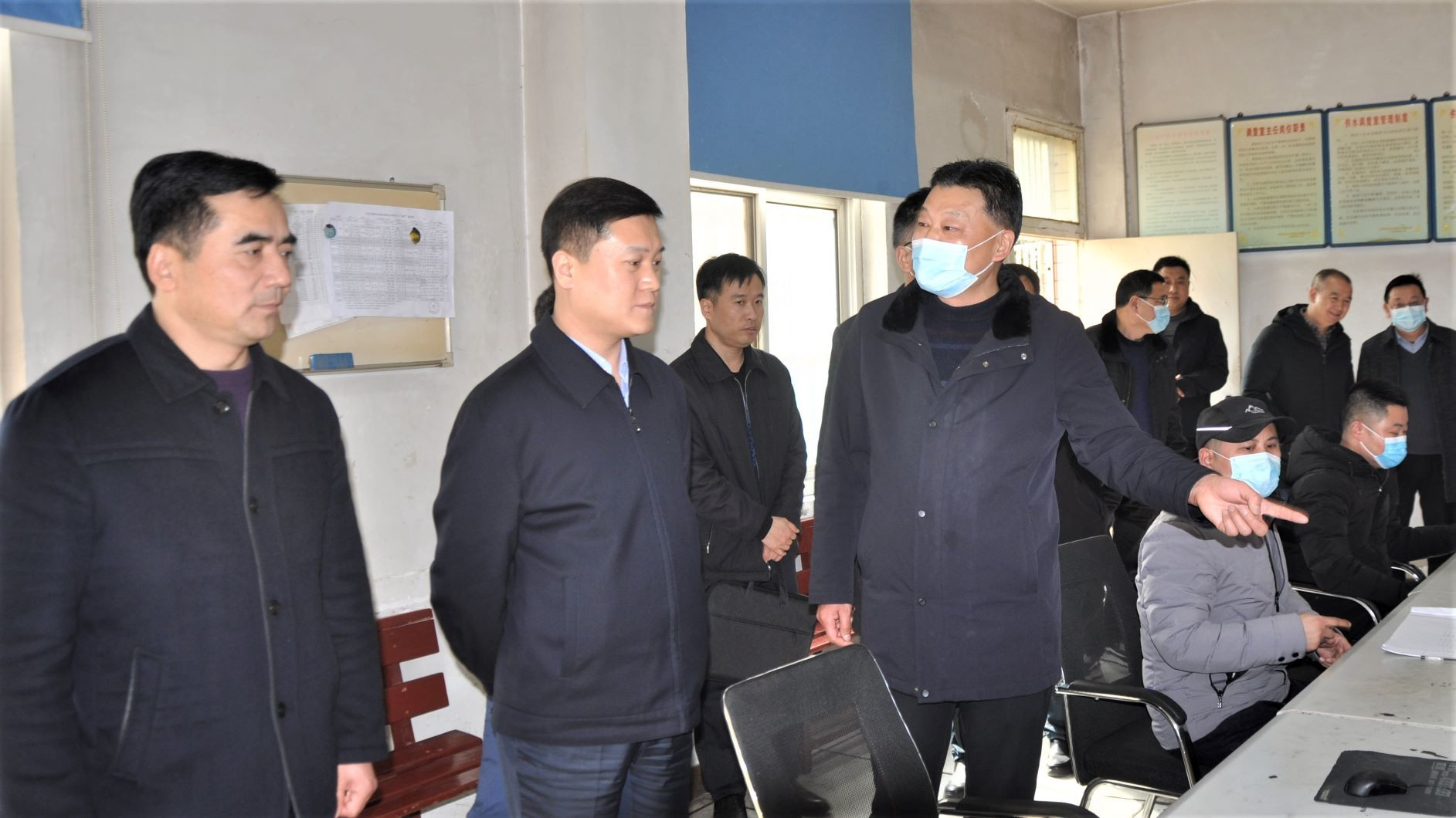 汉中市副市长检查汉中水司安全供水工作
